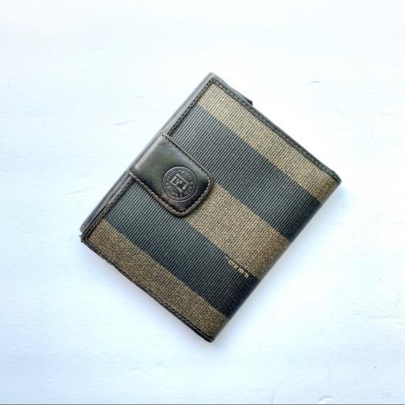 f10f4ec3d78 Fendi Handbags - FENDI | Authentic vintage penguin stripe wallet